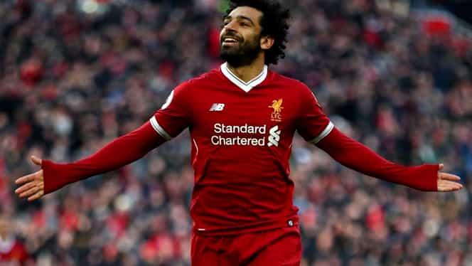 Salah e pe val. L-a depăşit pe Drogba şi a devenit primul fotbalist african cu 30 de goluri în Premier League