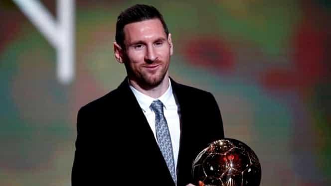 Lionel Messi este câștigătorul Balonului de Aur în 2019! Cristiano Ronaldo, pe ultima treaptă a podiumului. VIDEO