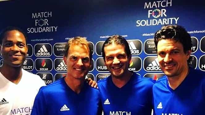 Cristi Chivu, coleg din nou cu Luis Figo! S-au duelat cu Ronaldinho. Video