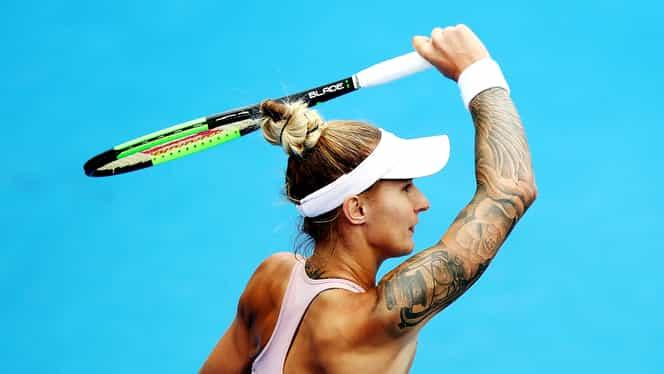 Galerie foto. Ea e cea mai tatuată jucătoare de la WTA Miami!