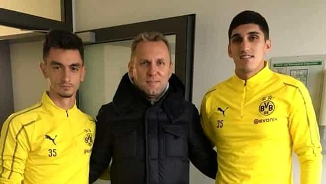 Un român de națională dă probe la Borussia Dortmund! A plecat imediat după meci!