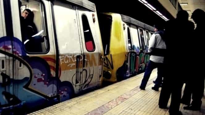 Incident la metrou. Garnitura unui tren plin cu călători s-a defectat