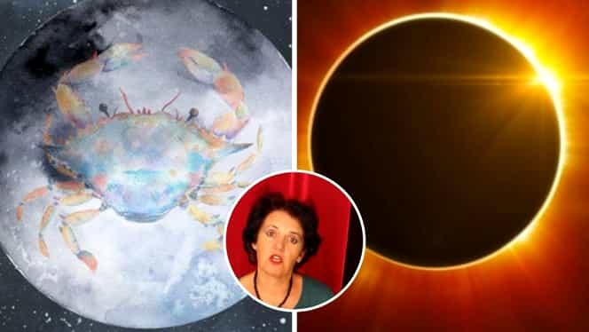 Horoscop special Acvaria. Cum afectează Luna Nouă în Rac și eclipsa de Soare zodiile. Vești proaste pentru acești nativi