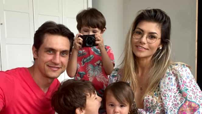 """Cum au petrecut """"tricolorii"""" de Paște. Ciprian Tătărușanu, Sergiu Hanca sau Alex Pașcanu, alături de familie. Foto"""
