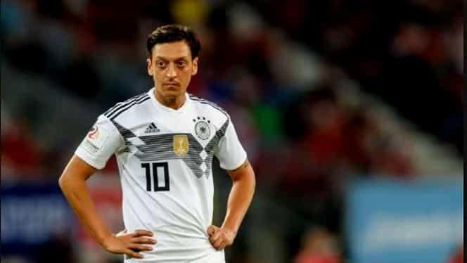 """Mesut Ozil se retrage de la naţionala Germaniei! """"Rasism şi lipsă de respect"""""""