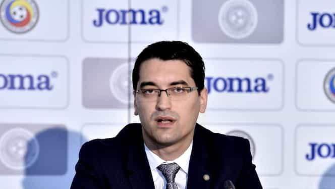 Răzvan Burleanu ştie câte voturi are pentru alegerile FRF