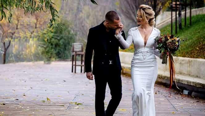 """Imagini în premieră de la nunta lui Alex Mitriță. Dedicații de la jucătorii Universității Craiova + dansul """"naşului"""" Mihai Rotaru. VIDEO"""