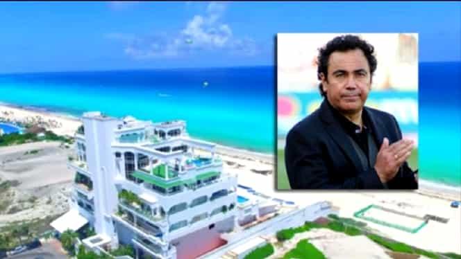 """""""Conacul"""" de vis al lui Hugo Sanchez, în pericol de prăbușire! Admirați superba clădire cât mai aveți ocazia! Foto + Video"""
