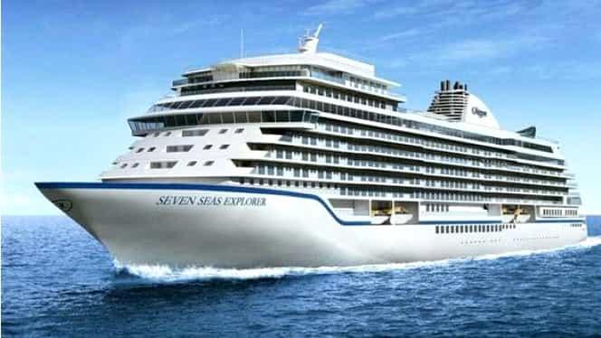 Cum arată cel mai luxos vas de croazieră din lume. Imagini impresionante!