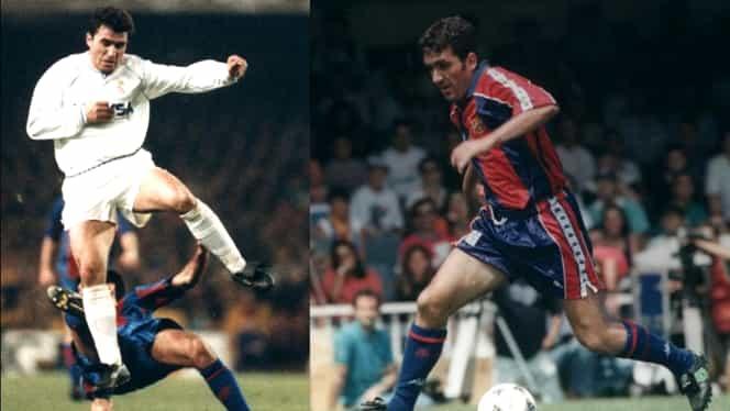 Gică Hagi, între cei 20 de jucători care au evoluat și la Real Madrid și la Barcelona! Un singur antrenor a stat pe băncile ambelor echipe