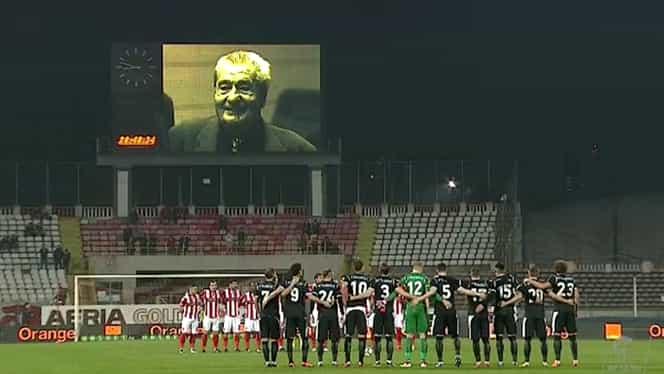Gest de milioane al fanilor lui Dinamo! Ce s-a întâmplat la momentul de reculegere