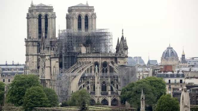 A fost stabilizată structura Catedralei Notre-Dame din Paris! Ce riscuri mai sunt acum