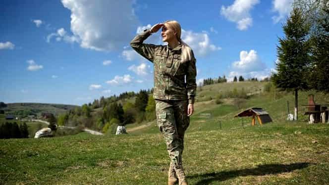 Alina Bizău, cea mai frumoasă femeie din Armata Română! Imaginile de pe Instagram fac furori pe internet