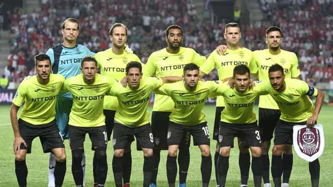 Lista de jucători trimisă de CFR Cluj la UEFA pentru grupele Europa League. George Țucudean, înlocuit de Lacina Traore