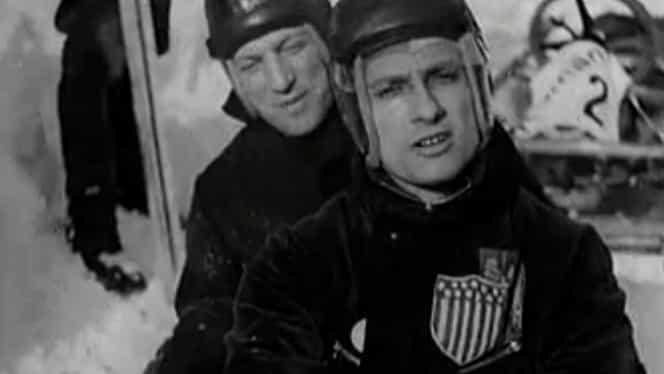 Alexandru Papană şi Dumitru Hubert, aviatorii care au devenit campioni mondiali la bob!