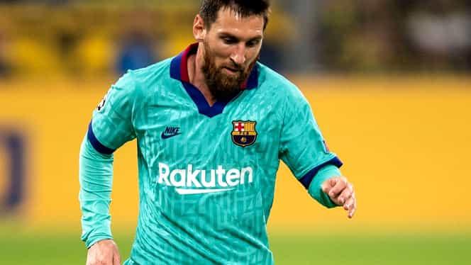 Ce s-a întâmplat cu primul contract al lui Lionel Messi cu Barcelona! Celebrul şerveţel este bine păstrat, iar catalanii vor să-l cumpere