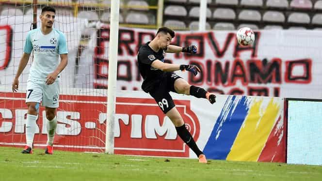 Portarul Andrei Vlad, cel mai bun om al FCSB-ului în victoria cu Dinamo. Cine a fost cel mai slab de pe teren