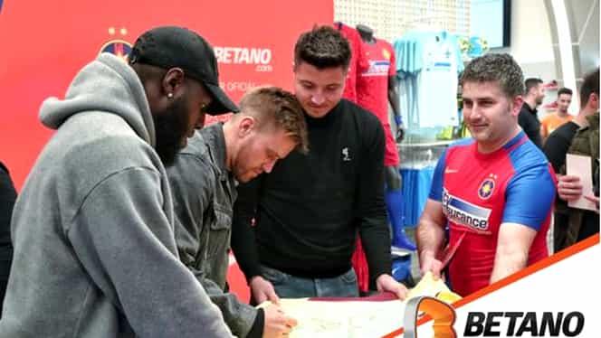 (P) Betano i-a adus pe Gnohere, Pintilii și Bălgrădean în mijlocul fanilor. FOTO & VIDEO