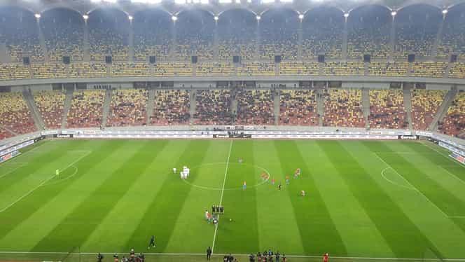 Atmosferă dezolantă pe Arena Națională la FCSB – Hermannstadt. Câți spectatori au asistat la meci