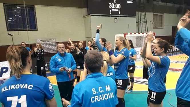 Performanţă uriaşă! SCM Craiova, aproape de finala Cupei EHF