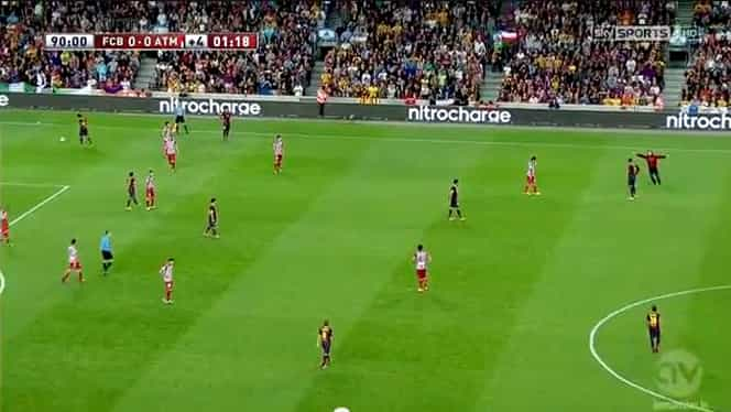 VIDEO / Un suporter a întrerupt Supercupa Spaniei