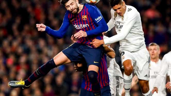 Barcelona – Real Madrid 1-1, în manşa tur a semifinalelor Cupei Spaniei. Messi, doar 30 de minute! Video cu rezumatul