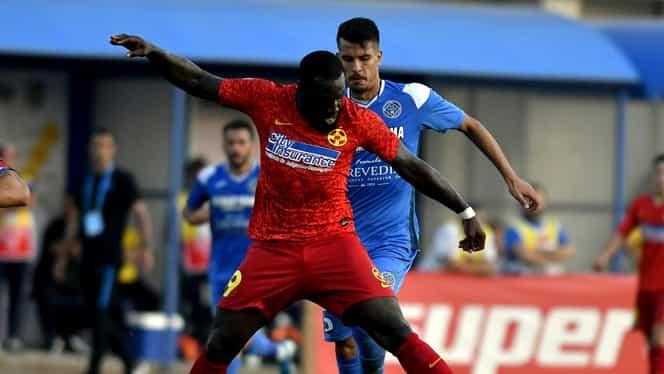 """Harlem Gnohere mai trebuie să slăbească 1 kg ca să treacă """"proba cântarului"""" înainte de FCSB – Dinamo! Cum arată echipa probabilă a roș-albaștrilor. EXCLUSIV"""