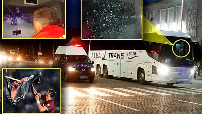 Bine aţi venit în IAD! Autocarul Serbiei, ATACAT cu PIETRE de albanezi