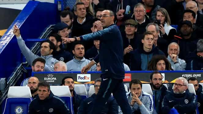 Maurizio Sarri intră în istoria clubului Chelsea! Doar Jose Mourinho a fost mai bun ca el