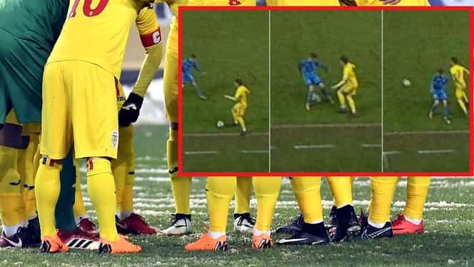 Video. Dragomir a făcut faza meciului în România-Ucraina