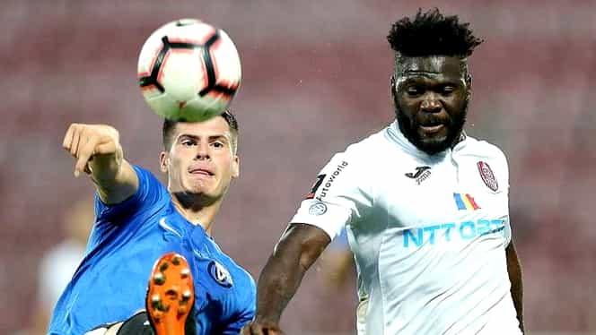 CFR Cluj s-a despărțit oficial de încă un jucător înainte de derby-ul cu FCSB. Robert Tambe și-a reziliat contractul cu liderul