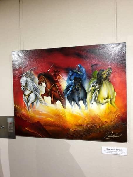 Picturile cu samurai ale lui Raymond Poulet au încântat pe toată lumea la CM de judo de la Tokyo, în august acest an