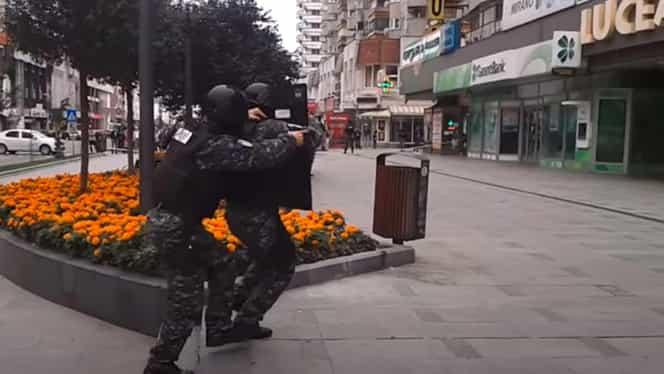 Mascații din Bacău au simulat cu succes o luare de ostatici în 2017. La Onești a fost eșec total