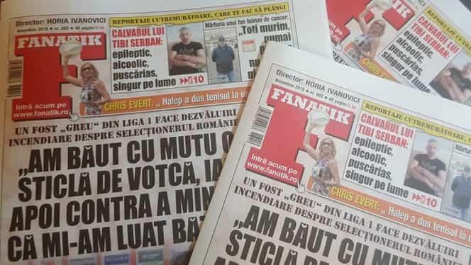 A apărut revista FANATIK pe noiembrie! Află ce materiale emoţionante poți citi în numărul din această lună!