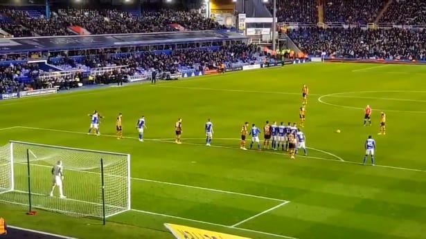 Imagine de la meciul Birmingham - Hull 3-3 din ultima etapă jucată în Championship