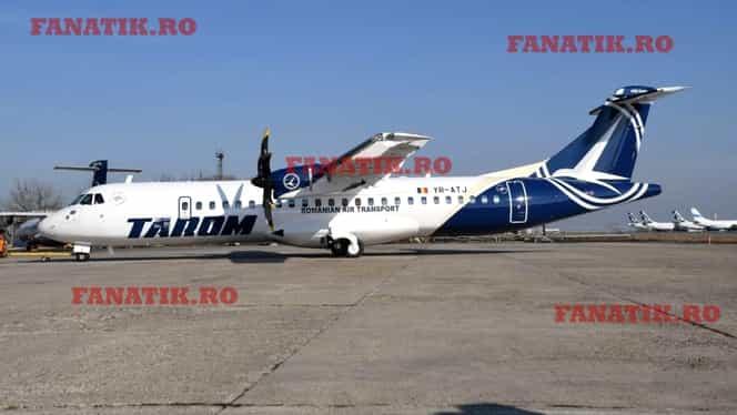 Cum arată noile avioane ATR 72-600 de la TAROM. Primul dintre ele a aterizat marți pe Aeroportul Otopeni. Galerie Foto + Video