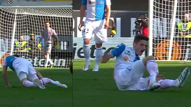 VIDEO / Imagini HORROR în Serie A! Accidentare GROAZNICĂ. Vezi toate rezultatele din Serie A