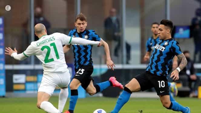 Vlad Chiricheș, pus la zid pentru prestația din Inter – Sassuolo! Ce note a primit în presa italiană