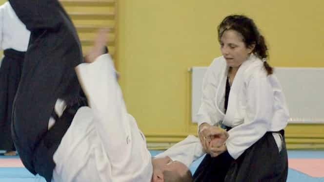 Curs de aikido pentru femei, la Cluj