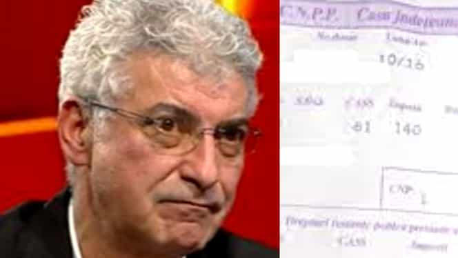 Ce pensie primește Silviu Prigoană de la statul român. Suma este uriașă