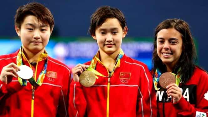 ISTORIE la Rio! O sportivă a devenit campioană olimpică la 15 ani
