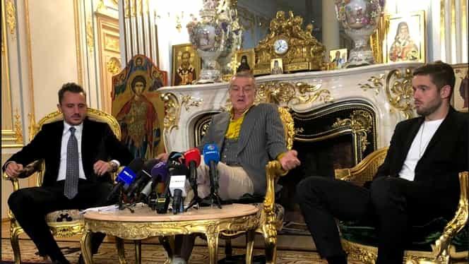 Gigi Becali l-a prezentat pe Sergiu Buș la palat. Ce contract i-a oferit. A semnat pe 3 ani și are o clauză de 2 milioane de euro. Update. Exclusiv