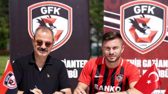 Gaziantep l-a transferat pe Alin Toșca! Pe ce perioadă a semnat fotbalistul cu echipa antrenată de Marius Șumudică. FOTO