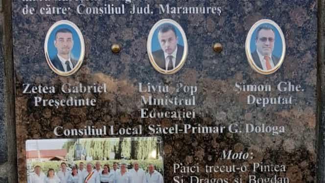 """Liderii PSD Maramureș, Liviu Pop și Gabriel Zetea, omagiați alături de Pintea Viteazul: """"Voinici ai neamului"""". Foto"""