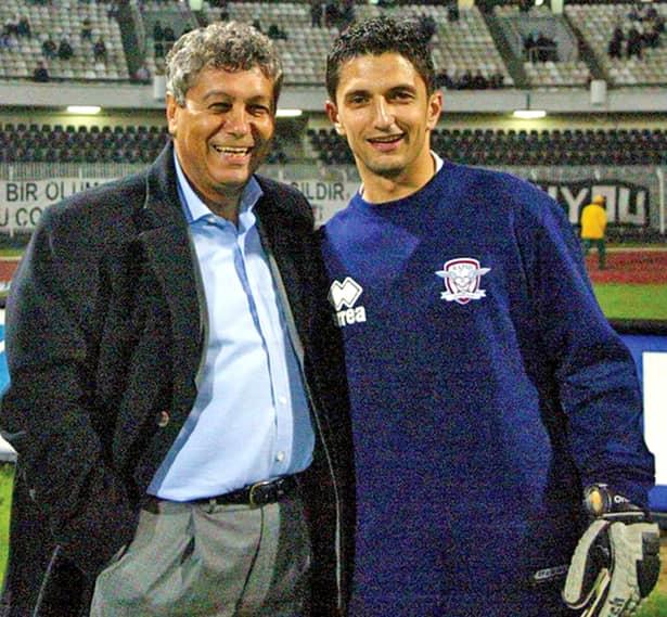 Mircea și Răzvan, antrenorul și portarul Lucescu, o pereche de nedespărțit
