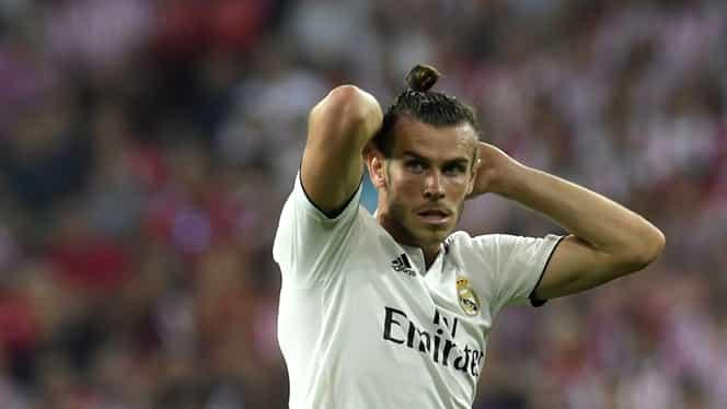 """Motivul pentru care Gareth Bale este rezervă în Real Madrid – Barcelona! Ce i-au pregătit fanii """"galacticilor"""""""