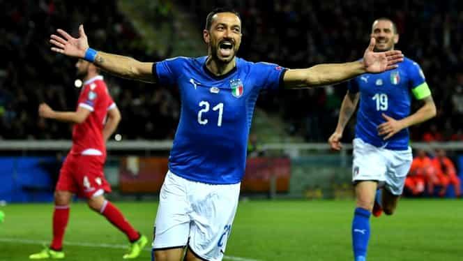 Liechtenstein – Italia 0-5 în preliminarii EURO 2020. VIDEO cu rezumatul