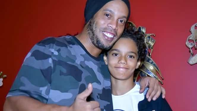 Fiul lui Ronaldinho a semnat primul contract! Oficialii clubului habar nu aveau cine este când a venit în probe