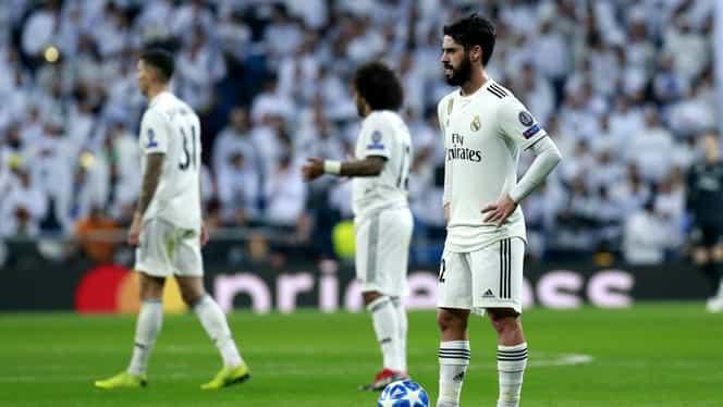 Real Madrid, cea mai drastică înfrângere pe teren propriu în Liga Campionilor în istoria sa!