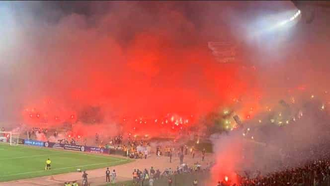 """Au """"dat foc"""" stadionului! Atmosferă care te lasă fără aer la Raja Casablanca – Wydad! Video"""